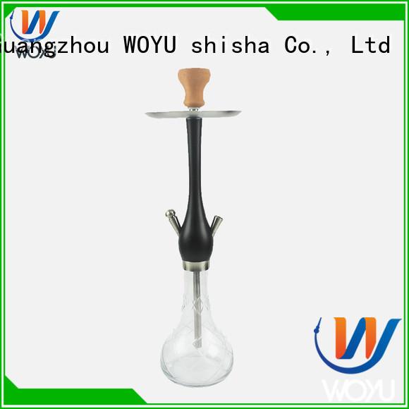 WOYU fashion wooden shisha manufacturer for pastime