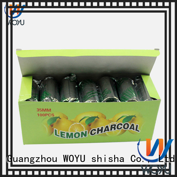 WOYU high quality hookah charcoal supplier for sale