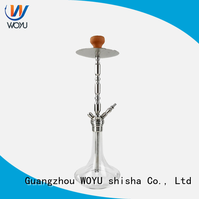 WOYU professional stainless steel shisha supplier for smoker