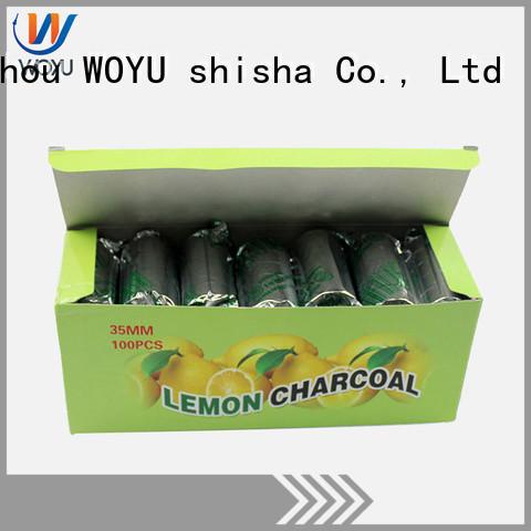 WOYU cheap hookah charcoal manufacturer for smoker