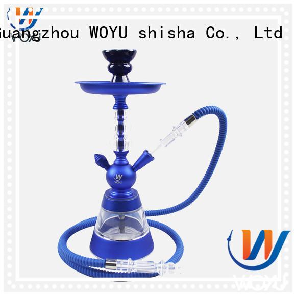 WOYU custom aluminum shisha manufacturer for smoker