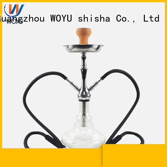 WOYU 100% quality zinc alloy shisha factory for wholesale