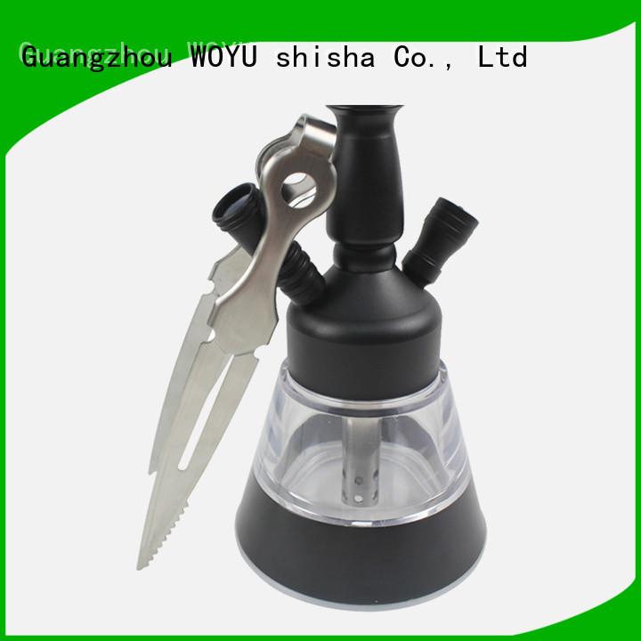 WOYU inexpensive shisha tong manufacturer for smoker