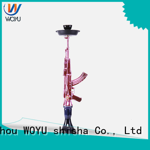 WOYU personalized resin shisha supplier for pastime