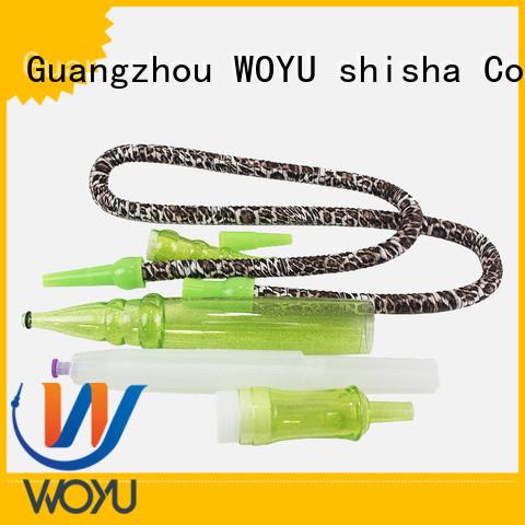 WOYU shisha hose factory for smoker
