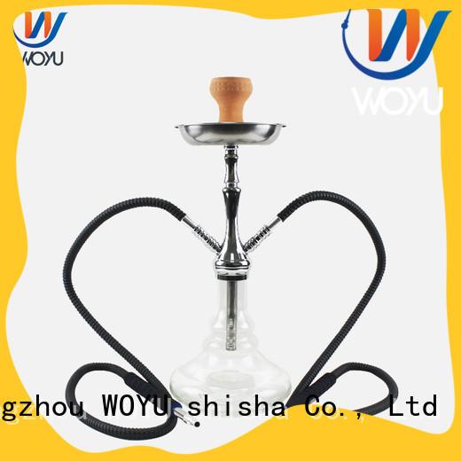 WOYU new zinc alloy shisha manufacturer for wholesale