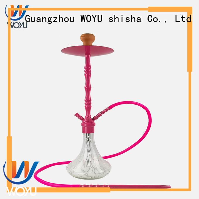 WOYU zinc alloy shisha supplier for wholesale