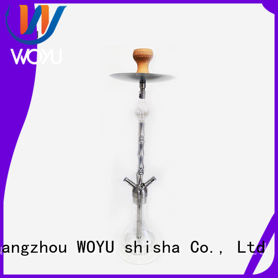 WOYU custom stainless steel shisha factory for pastime