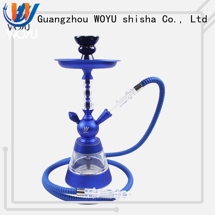 WOYU new aluminum shisha factory for smoking