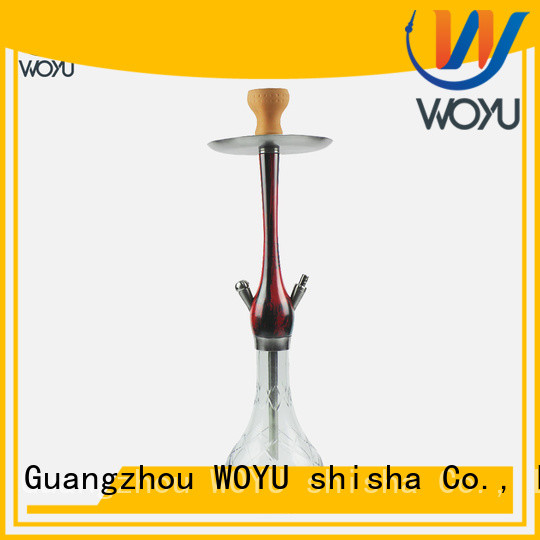 WOYU wooden shisha manufacturer for smoking