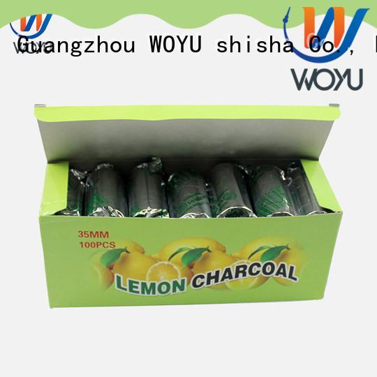 WOYU shisha charcoal manufacturer for sale