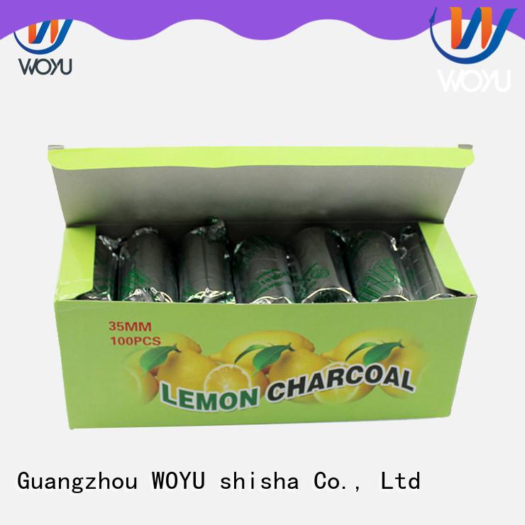 WOYU high quality hookah charcoal supplier for smoker