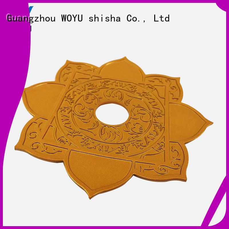 WOYU cheap shisha plate supplier for wholesale