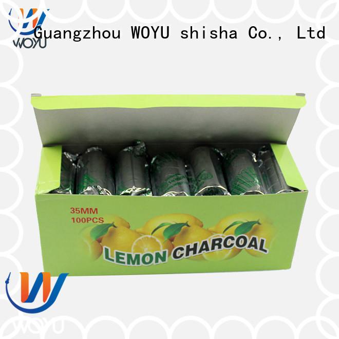 WOYU shisha charcoal factory for wholesale