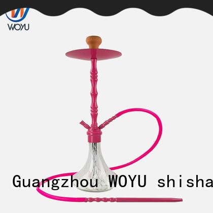 WOYU best-selling zinc alloy shisha manufacturer for smoker