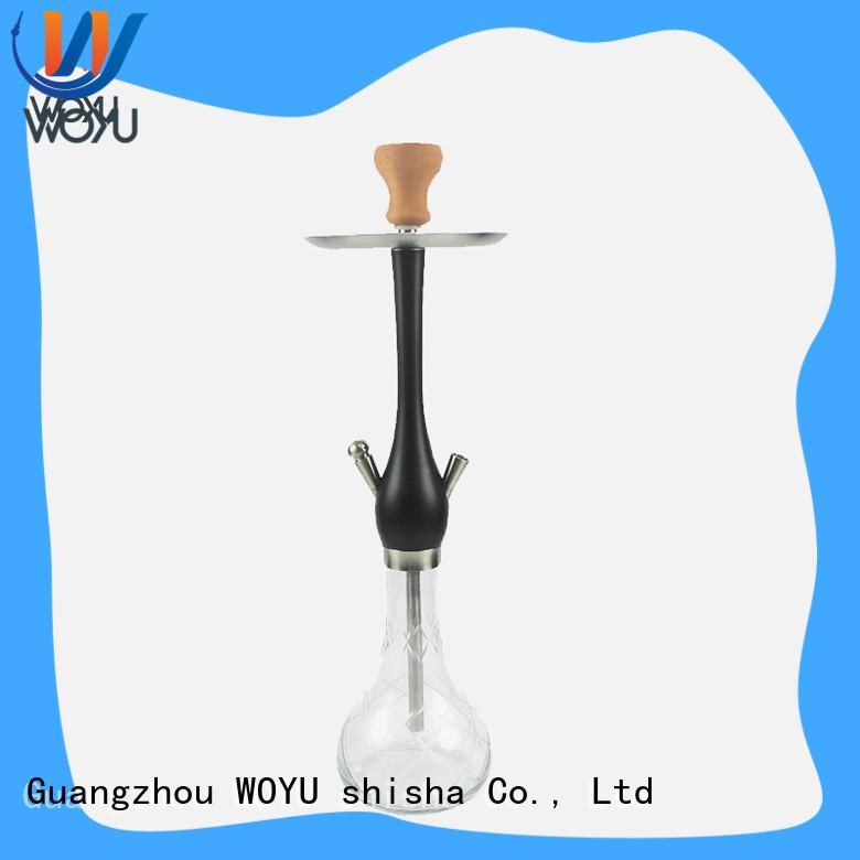 WOYU fashion wooden shisha supplier for pastime