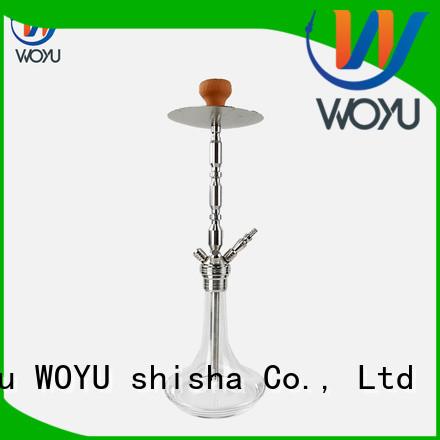 WOYU custom stainless steel shisha manufacturer for smoking