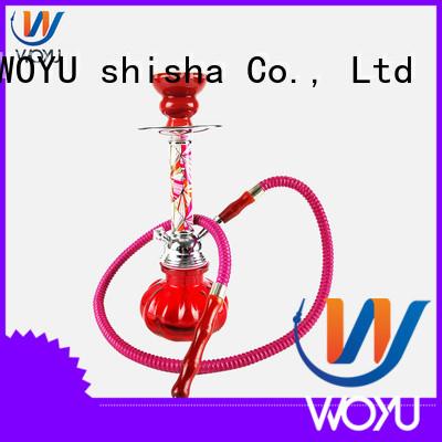 WOYU custom iron shisha factory for pastime