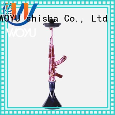 WOYU new resin shisha manufacturer for smoking