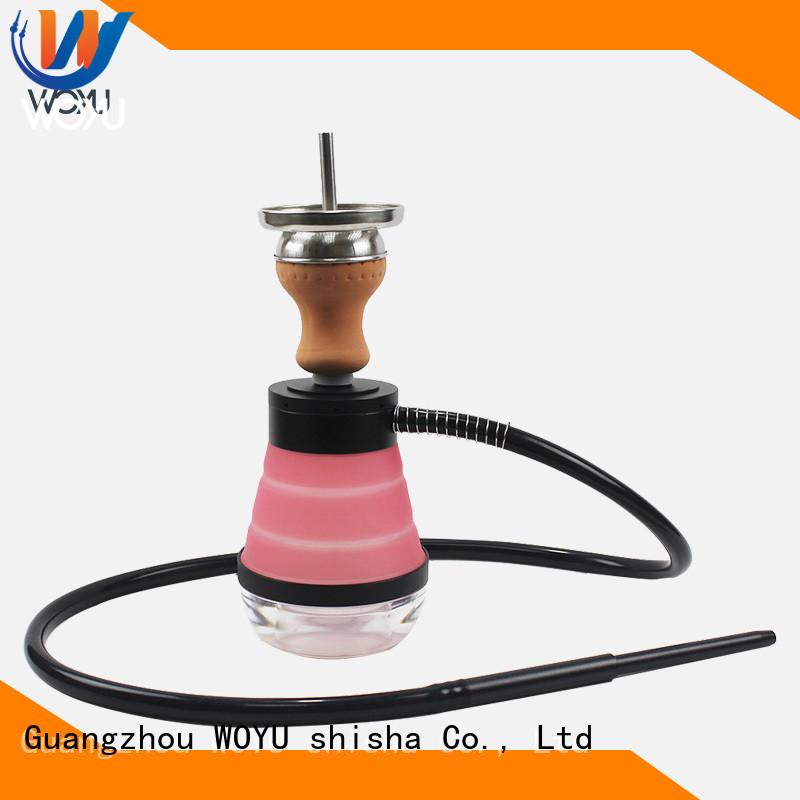 WOYU new silicone shisha supplier for smoking