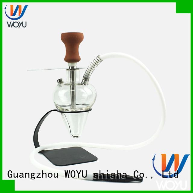 WOYU new glass shisha supplier for pastime