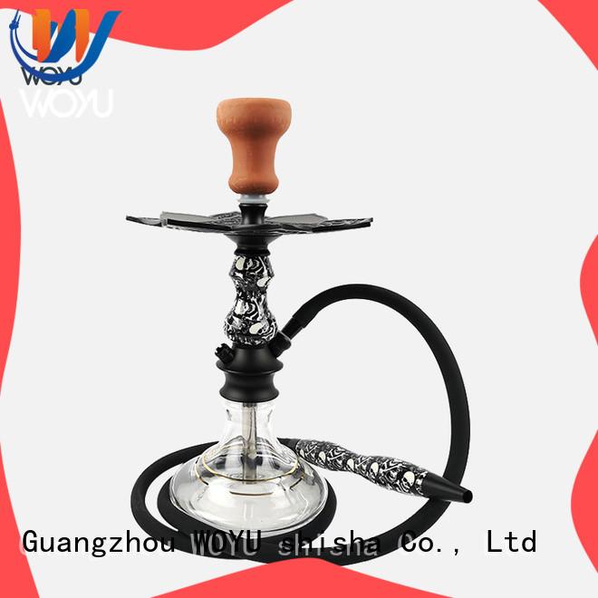 WOYU fashion aluminum shisha supplier for smoker