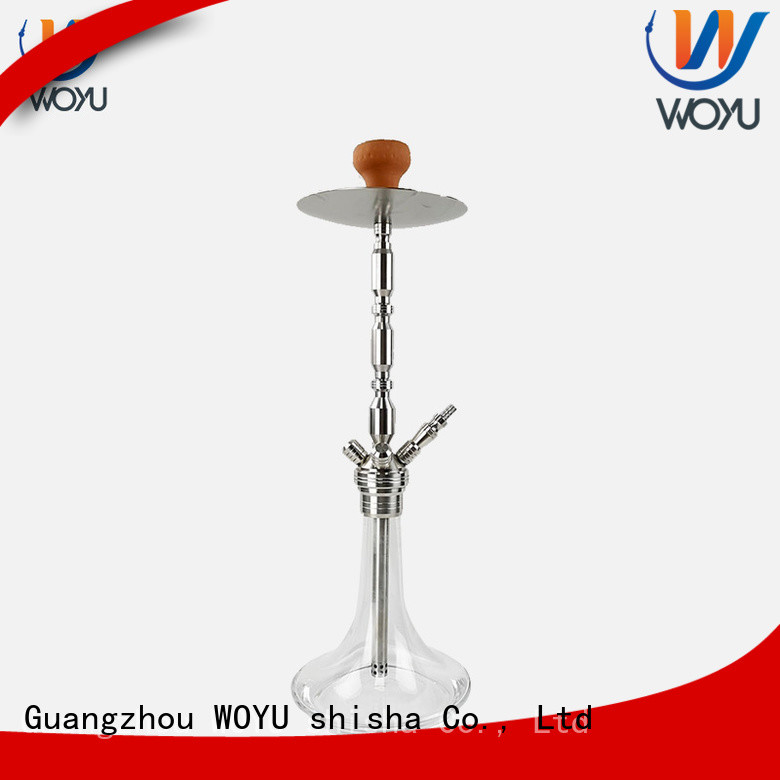 WOYU stainless steel shisha manufacturer for pastime