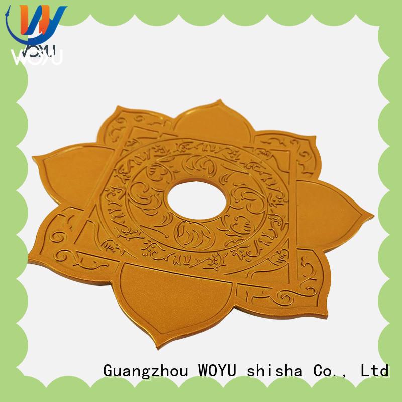 fashion shisha plate manufacturer for smoker