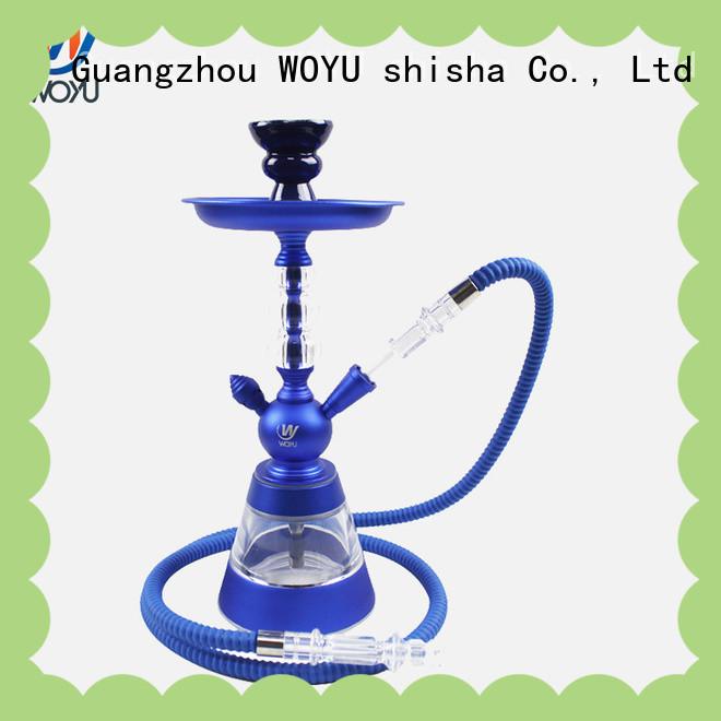 WOYU 100% quality aluminum shisha from China for party