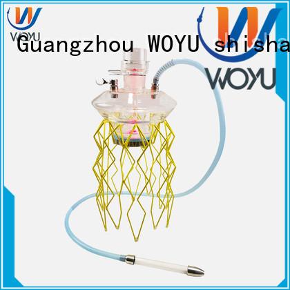 WOYU stainless steel shisha manufacturer for smoker